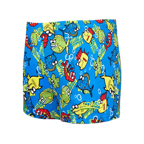 All over Fishy business print. Leg length 17cm