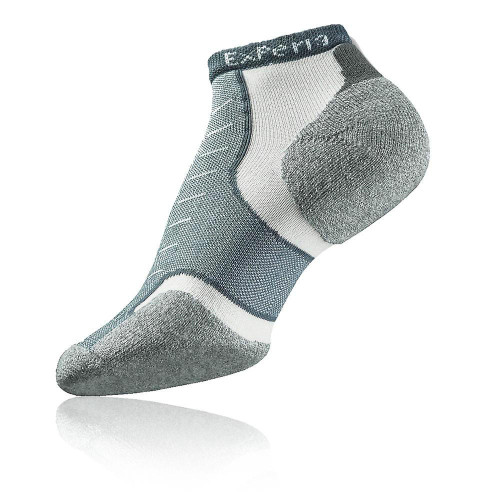 Lightweight Achilles Tendon pad protects against rubbing and chafing while functioning as a heel lock.