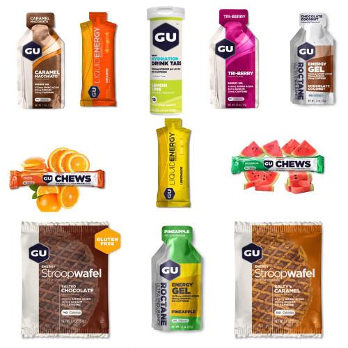 Gu Energy Sampler Pack