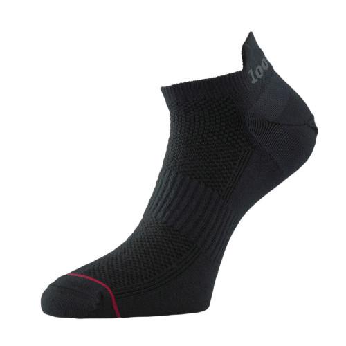 1000 Mile Socks - Mens Ultimate Tactel Trainer Liner - Black