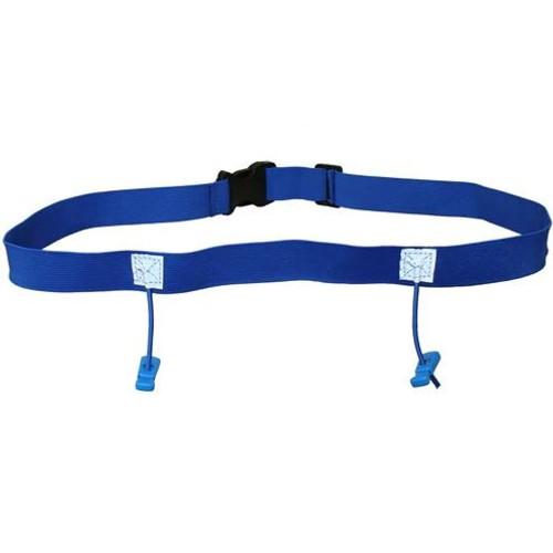 iRun Race Number Belt For Junior Fit - Blue