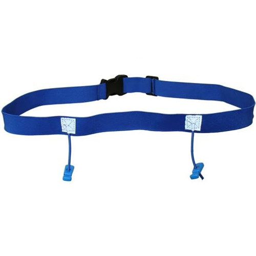 iRun Race Number Belt For Junior Fit - Blue