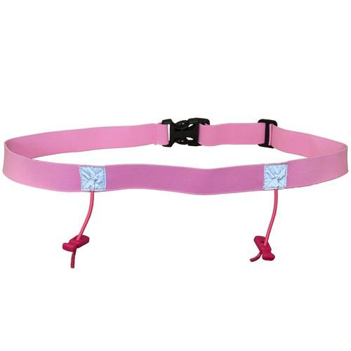iRun Race Number Belt For Junior Fit - Pink