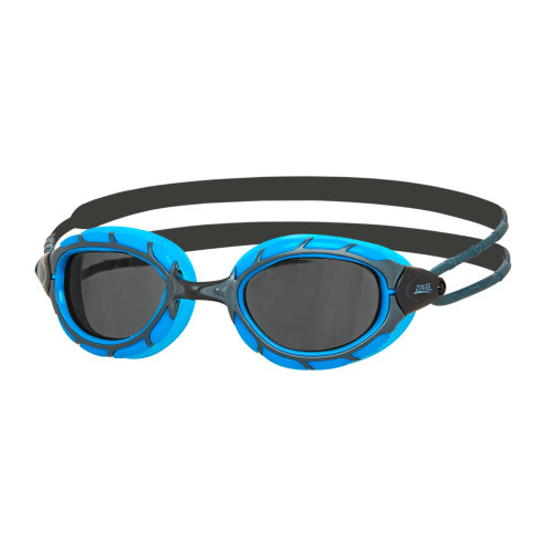 Zoggs Predator Goggles - Smoked Lens - Blue/Black Regular Fit