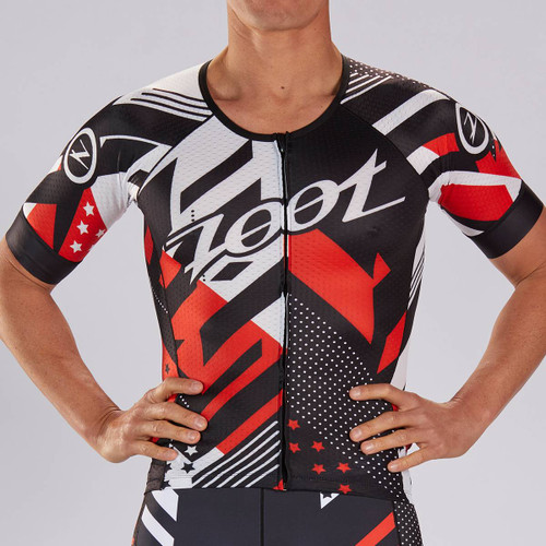 Zoot Mens LTD Short Sleeved Tri Jersey - Team 2019