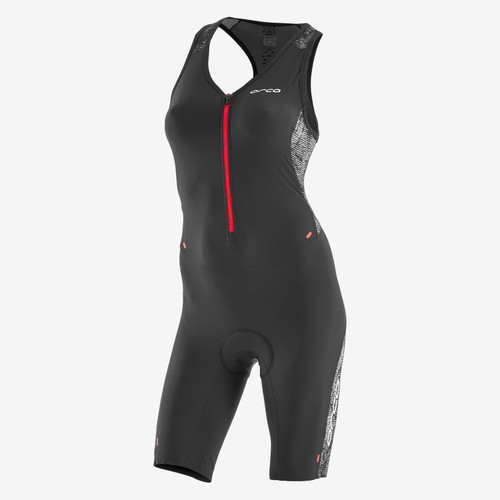 Orca Womens 226 Sleeveless Tri Suit - Black/Red - New for 2020