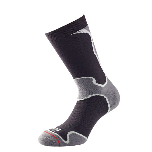 1000 Mile Socks - Womens Fusion Sport Sock - Black