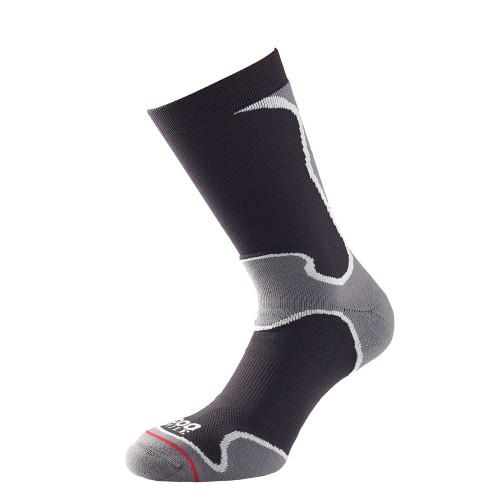 1000 Mile Socks - Womens Fusion Sport Sock - Black