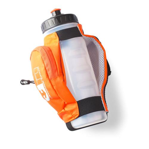 padded, adjustable hand strap