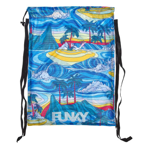 Funky Mesh Swim Gear Bag - Summer Bay
