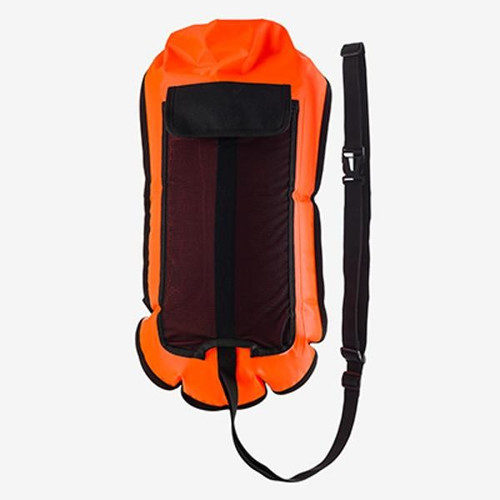 Orca Camelbak Open Water Safety Buoy with Hydration Bladder Pocket - Orange