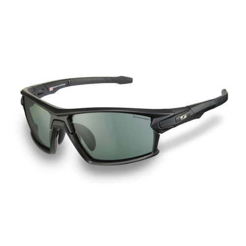 Sunwise Hybrid Prescription Compatible Sunglasses - Black