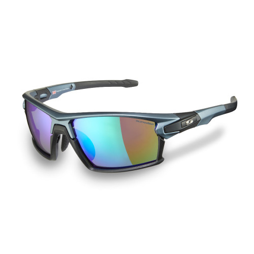Sunwise Hybrid Prescription Compatible Sunglasses - Blue