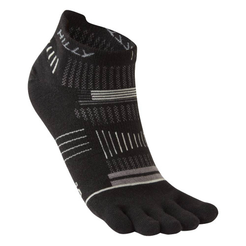 Hilly Socks Toe Socklet - Black