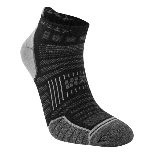 Hilly Socks Twin Skin Socklet - Black
