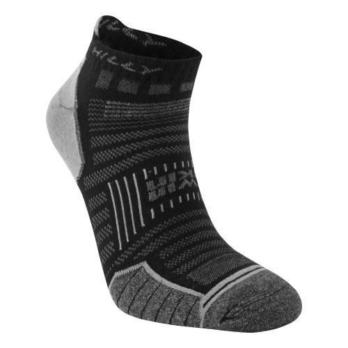 Hilly Socks Twin Skin Socklet - Black