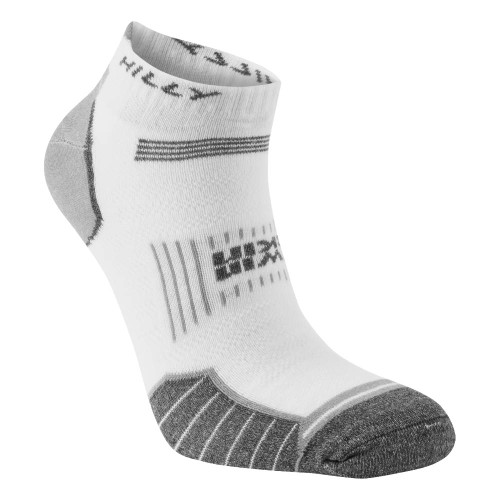 Hilly Socks Twin Skin Socklet - White