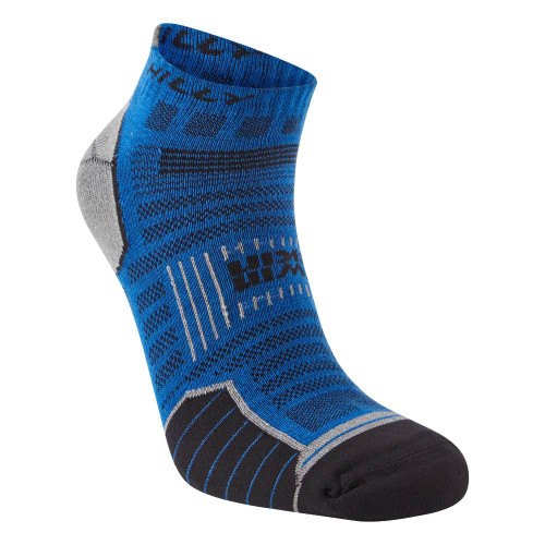 Hilly Socks Twin Skin Socklet - Azurite Blue