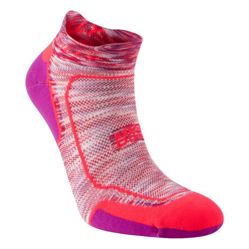 Hilly Socks Womens Lite Comfort - Hot Coral