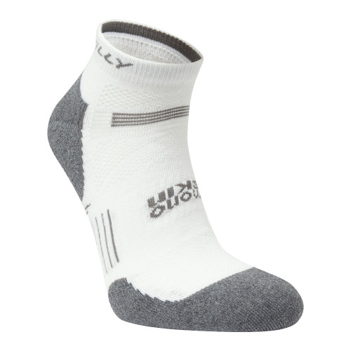 Hilly Socks Supreme Quarter - White