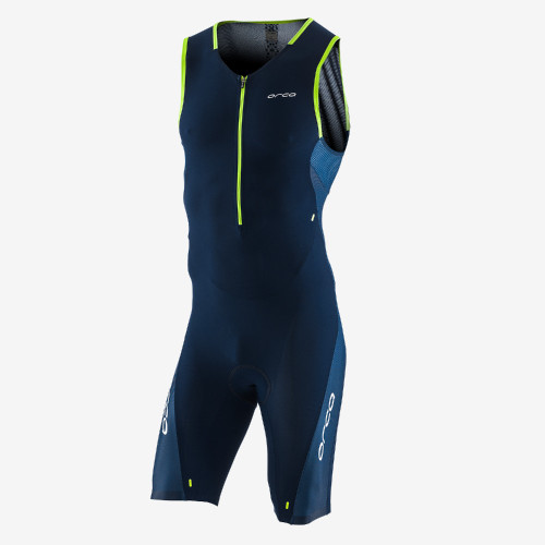 Orca Mens 226 Sleeveless Tri Suit - Blue/Green - New for 2021