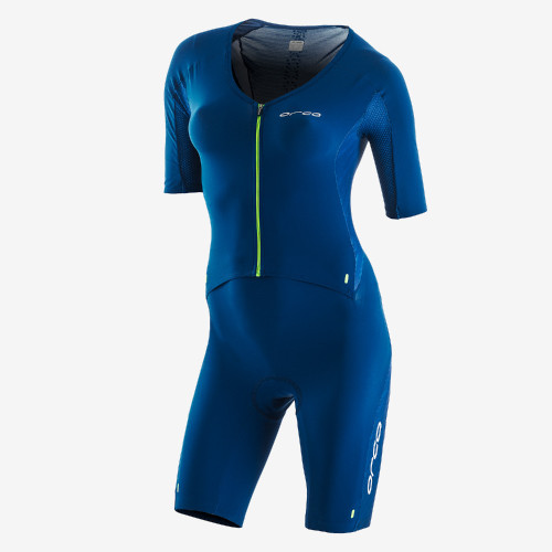 Orca Womens 226 Short Sleeve Tri Suit - Blue/Green - New for 2021