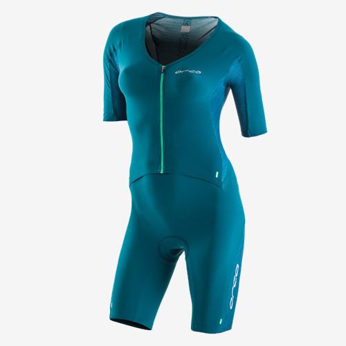 Orca Womens 226 Short Sleeve Tri Suit - Aqua - New for 2021