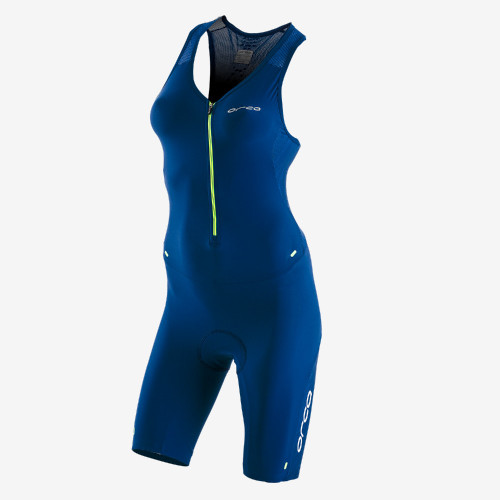 Orca Womens 226 Sleeveless Tri Suit - Blue/Green - New for 2021