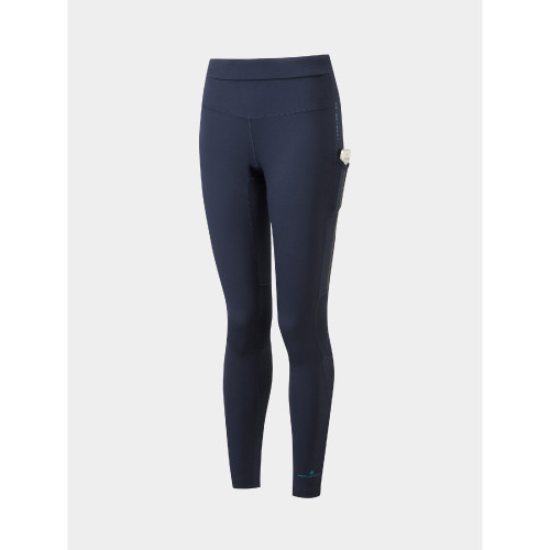 Ronhill - Womens Tech Revive Stretch Tight - Navy/Spa Green