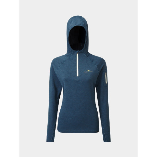 Ronhill - Womens Life Workout Hoodie - Legion Blue