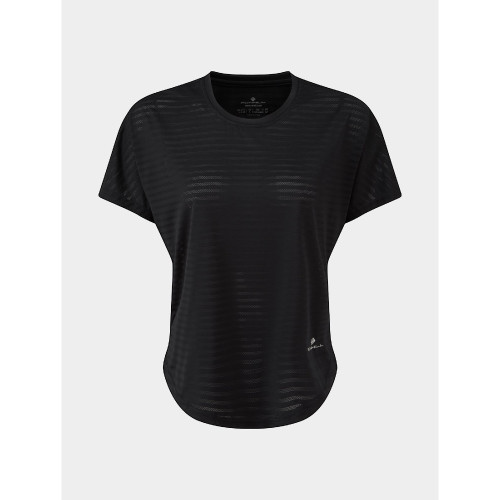 Ronhill - Womens Life Flow Short Sleeve Tee - Black