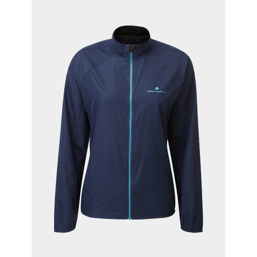 Ronhill - Womens Core Jacket - Navy / Spa Green
