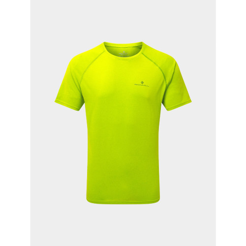 Ronhill - Mens Core Short Sleeve Tee - Fluro Yellow