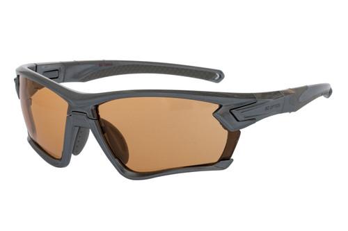 BZ Optics Sports Sunglasses - TOUR Graphite Frame - Photochromic HD Lens