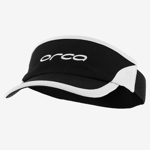 Orca Flexi Fit Run Visor - Black/White