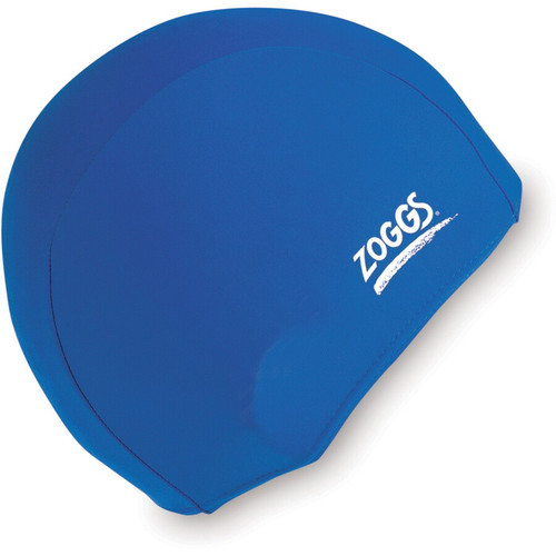 Zoggs Deluxe Stretch Swim Cap - Royal Blue