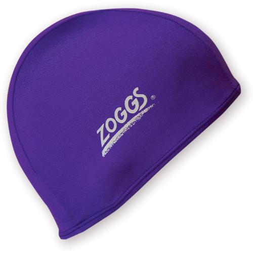Zoggs Deluxe Stretch Swim Cap - Purple