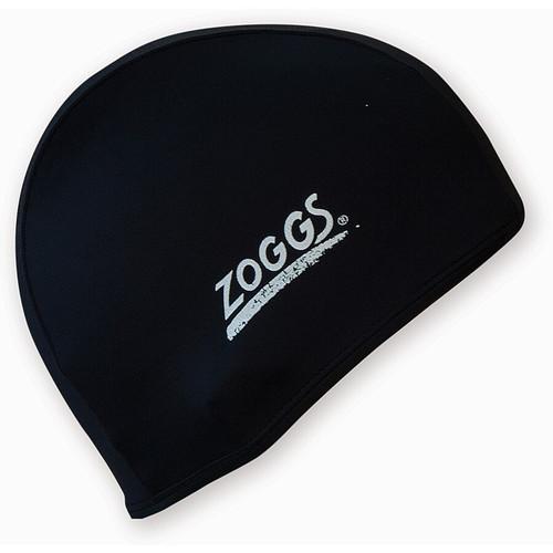 Zoggs Deluxe Stretch Swim Cap - Black
