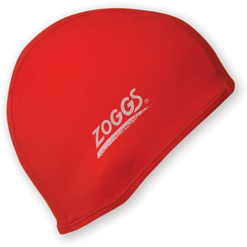 Zoggs Deluxe Stretch Swim Cap - Red