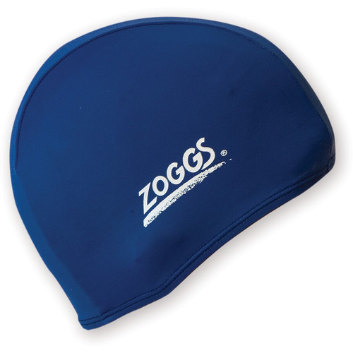 Zoggs Deluxe Stretch Swim Cap - Navy