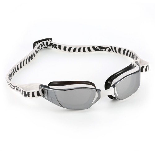 Aqua Sphere MP XCEED Competition Swimming Goggles - Mirror Lens in White/Black