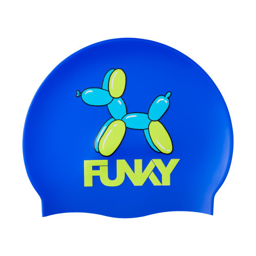 Funky Swim Cap - Ballon Dog