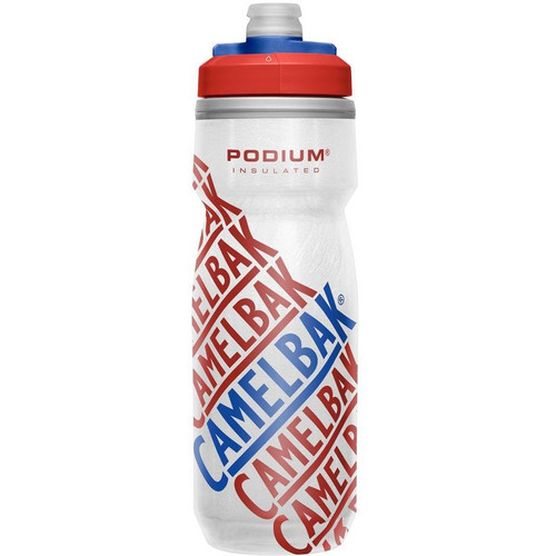 CamelBak Podium Chill 600ml Insulated Water Bottle - Race Red
