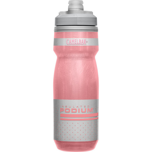 CamelBak Podium Chill 600ml Insulated Water Bottle - Reflective Pink