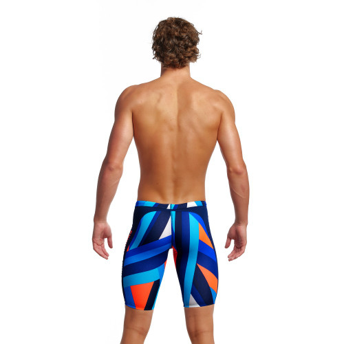 Funky Trunks Mens Training Jammers - Scaffolded