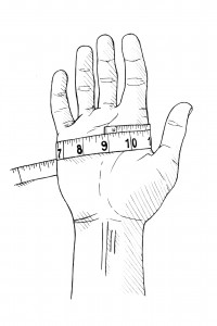 Ho to Measure your Glove Size