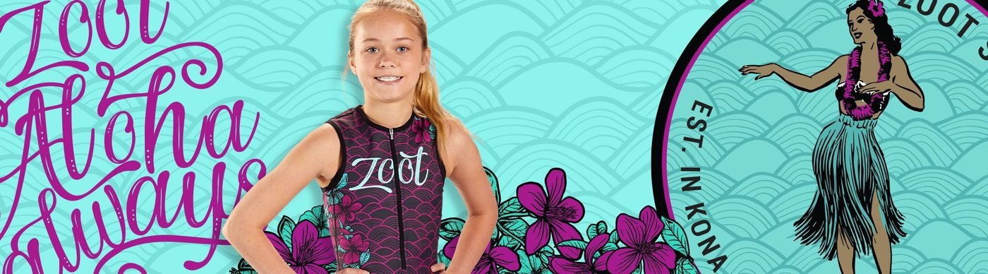 Zoot Tri gear for boys and girls