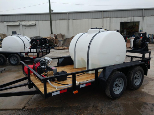 Cold Water Pressure Washer Trailer - North Georgia Airless