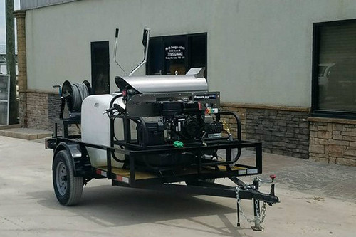 Compact Hot Water Trailer
