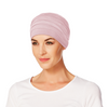 Yoga Turban Bamboo Chemo Cap-Rose Melange-320 by Christine Hat